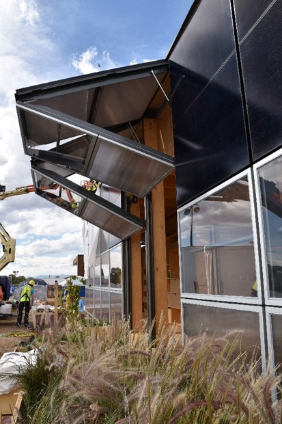 US 2017 Solar Decathlon Denver Colorado, Swiss Living Challenge