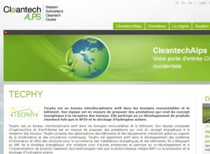 Tecphy registered as a CleantechAlp compagny